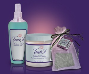 Touch'd bath and body products